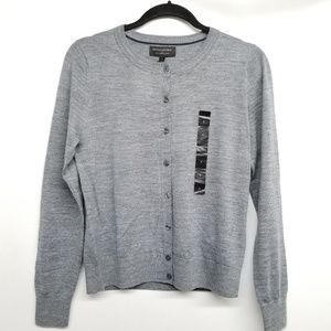 Banana Republic Factory Grey Cardigan NWT